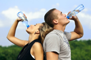 It's important to drink enough water to ensure you are hydrated enough for good cleansing.
